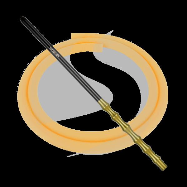 Smokah Futuro Alumundstück + Schlauch SET - Gold