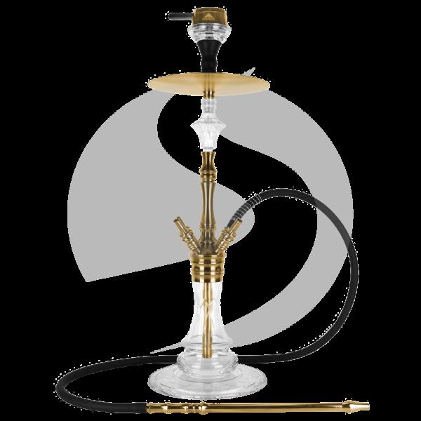 The Hookah 4 Four Excalibur - Gold
