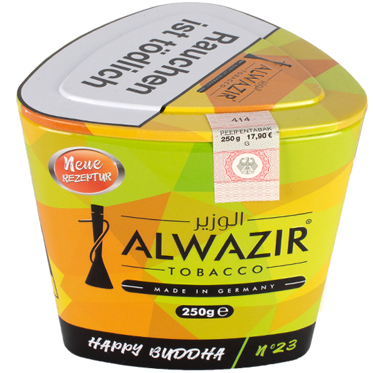 Al Wazir Tobacco 250g - No. 23 Happy Buddha