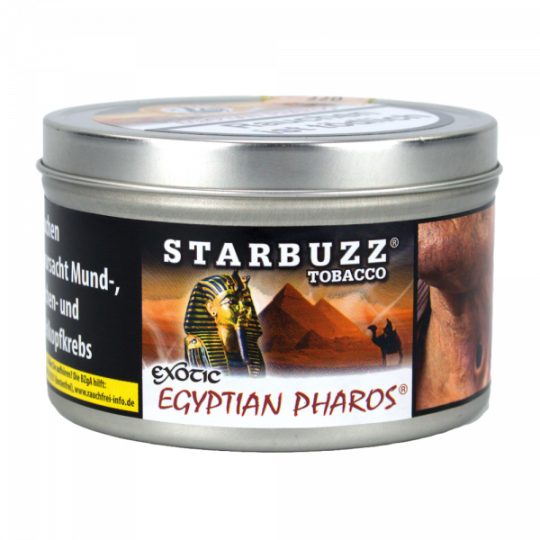 Starbuzz Tabak 200g - Egyptian Pharos
