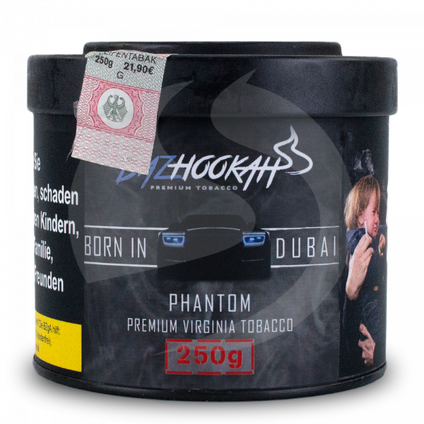 Bazhookah Premium Tobacco 250g - Indigo