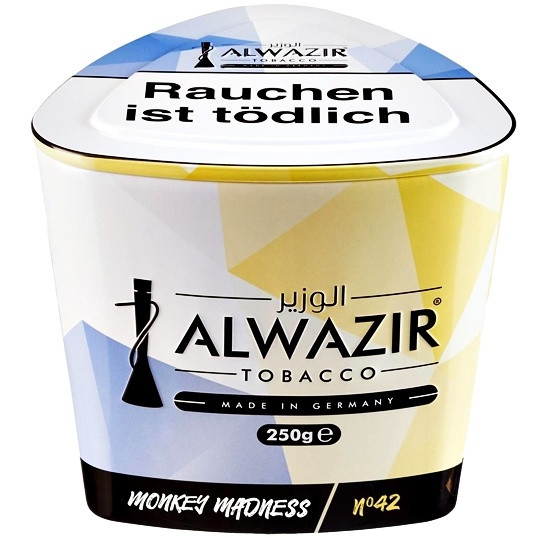 Al Wazir Tobacco 250g - No. 42 Monkey Madness