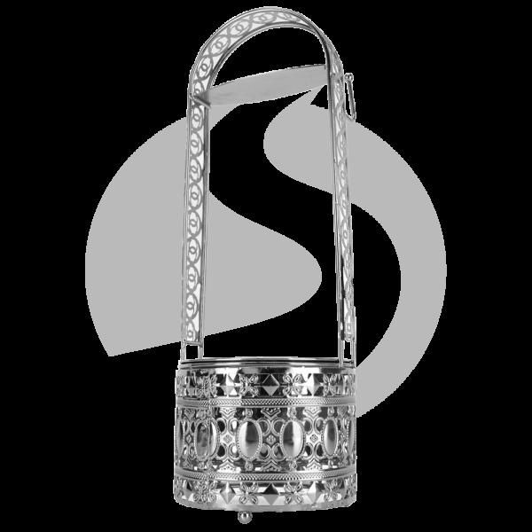 CRT Kohlebehälter Cha Mittel - Silber