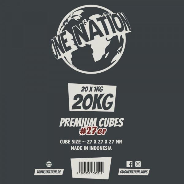 One Nation #27er Naturkohle 20kg Gastro
