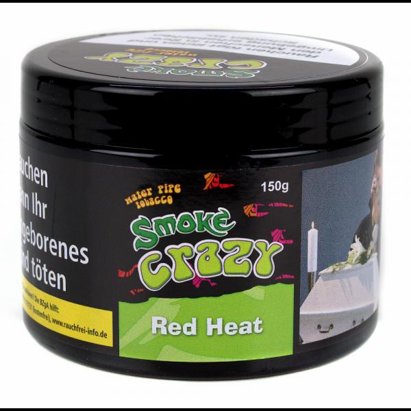 Smoke Crazy Tobacco 150g - Red Head