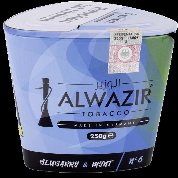 Al Wazir Tobacco 250g - No. 06 Blubarry & Mynt
