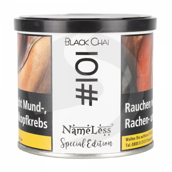 NameLess Tobacco Special Edition 200g - #101 Black Chai