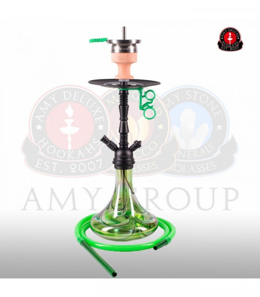 Amy Shisha Middle Zoom 058R - PSMBK-GR (Green)