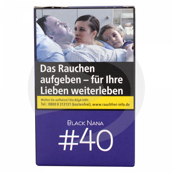 NameLess Tobacco 20g - #40 Black Nana