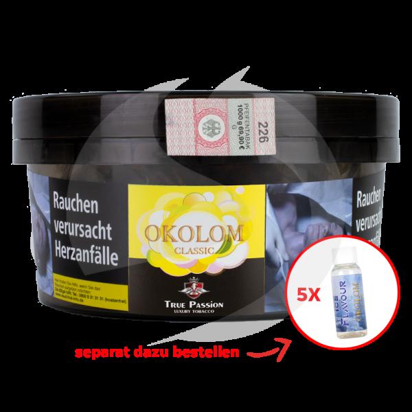 True Passion Tobacco 1kg - Okolom Classic