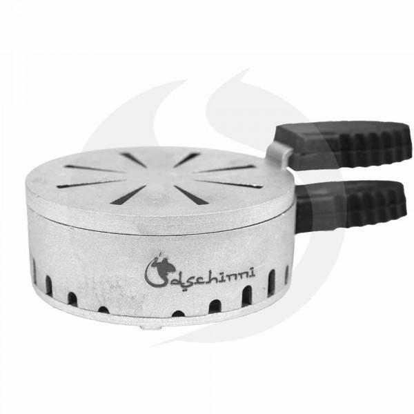 Dschinni Hot Pot Silver Smokebox/HMD (mit Griff)