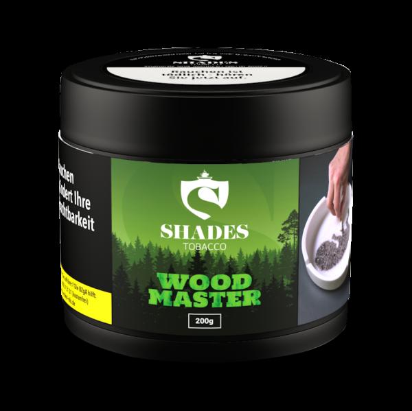 Shades Tobacco 200g - Woodmaster