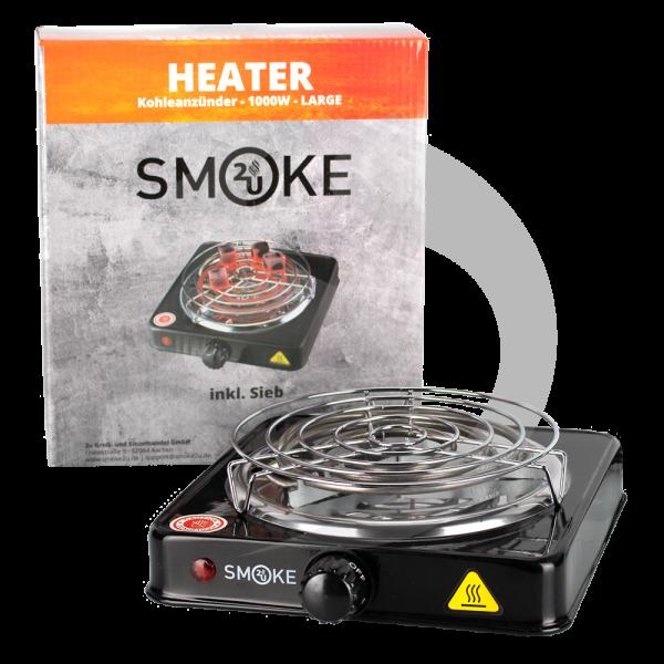 Smoke2u Kohleanzünder - Hot Plate 1000W