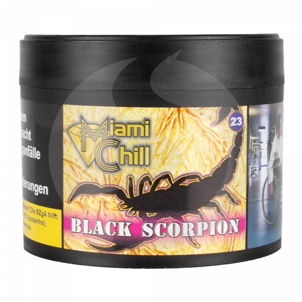 Miami Chill Tobacco 200g - Black Scorpion (23)