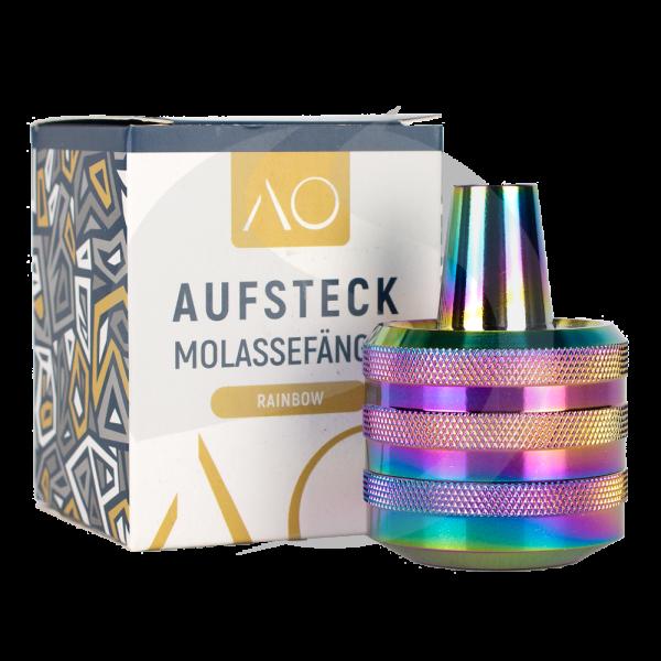 AO Aufsteckmolassefänger - Edelstahl Rainbow