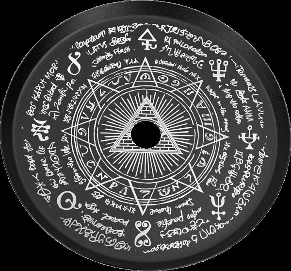 ALPHA Hookah Designed Kohleteller - Mystical