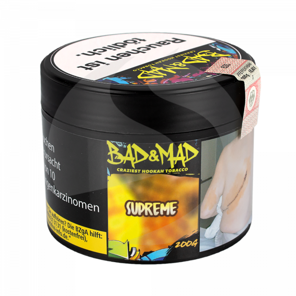Bad & Mad Tobacco 200g - Supreme