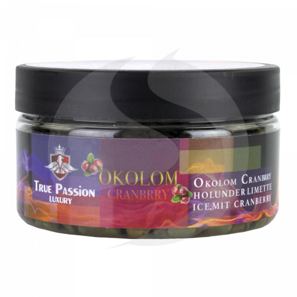 True Passion Dampfsteine 120g - Okolom Cranbrry