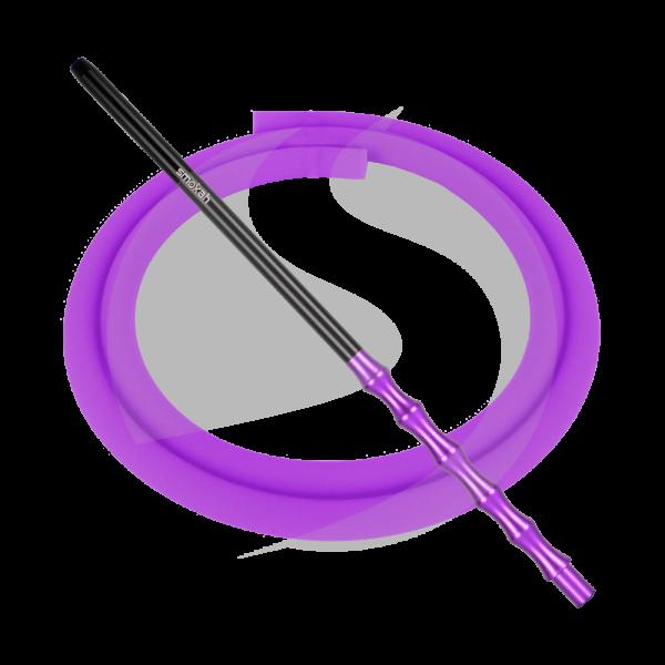 Smokah Futuro Alumundstück + Schlauch SET - Purple