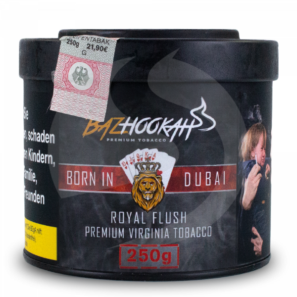 Bazhookah Premium Tobacco 250g - Royal Flush
