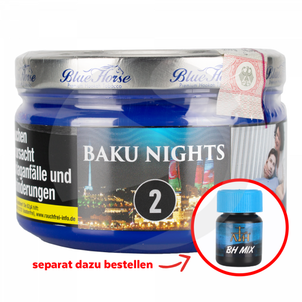Blue Horse Tobacco 200g - Baku Nights (2)