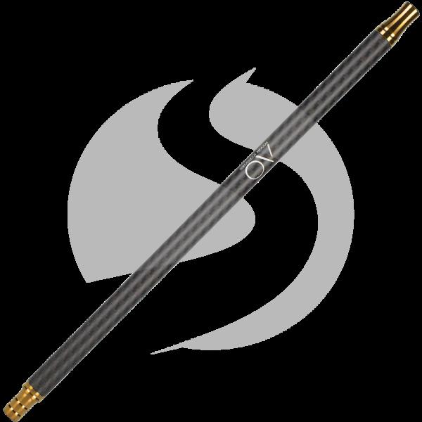 AO Carbon Mundstück Edelstahl V2A - Gold/Matt Schwarz