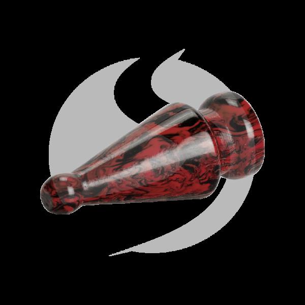 Phunnel Stopfen - Schwarz/Rot
