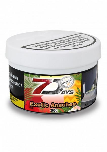 7 Days Tabak Platin 200g - Exotic Anachee