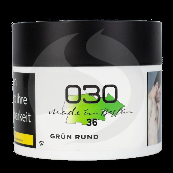 030 Tabak 200g - Grün Rund 36