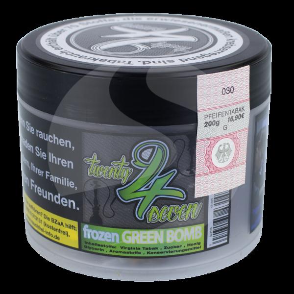 Twenty 4 Seven Tobacco 200g - Frozen Green Bomb