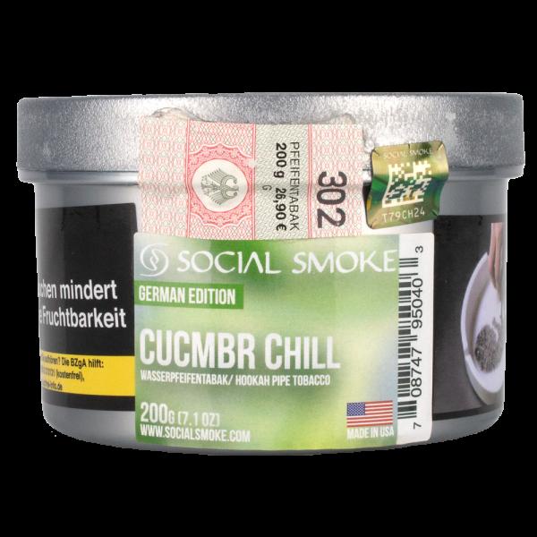 Social Smoke 200g - Cucmbr Chill