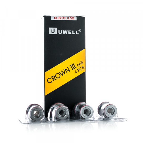 Uwell Crown III Parallel Heads 0,25 Ohm SUS316
