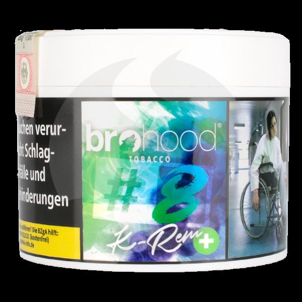 Brohood Tobacco 200g - # 8+ K-Rem