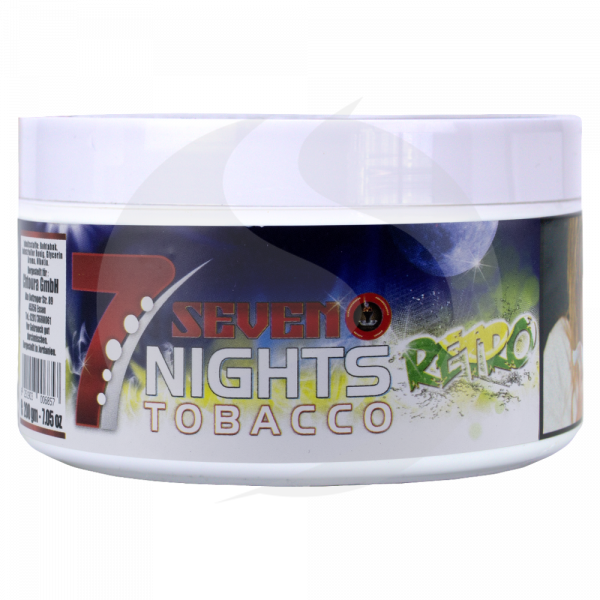 7 Nights Tabak 200g - Retro