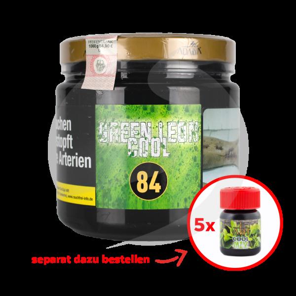 Adalya Tabak 1kg Dose - Green Leon Cool (84)