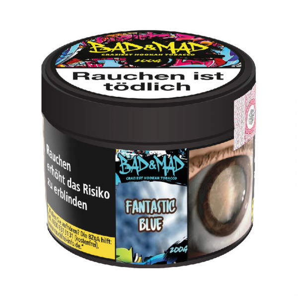 Bad & Mad Tobacco 200g - Blue IC