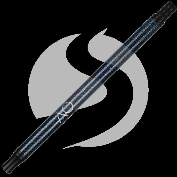 AO Alu-Carbonmundstück - Schwarz-Blau