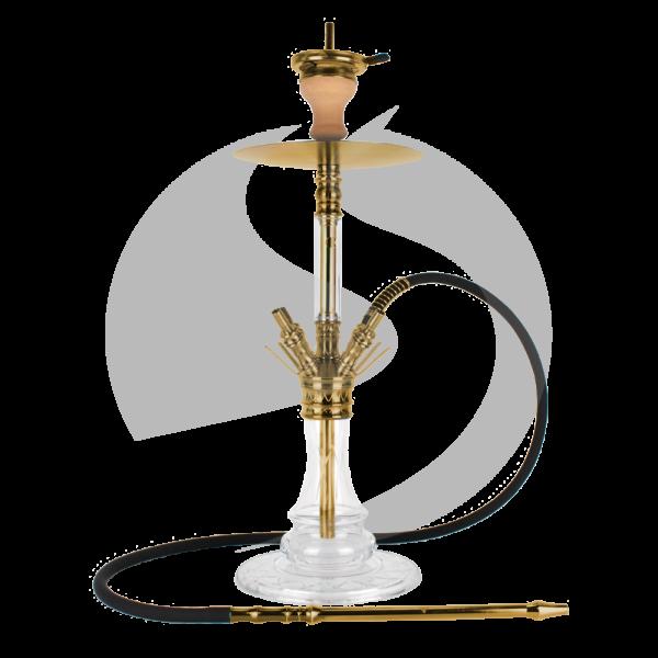 The Hookah Medusa - Gold