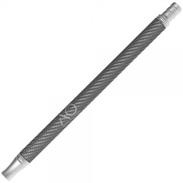 AO Alu-Carbonmundstück - Silber