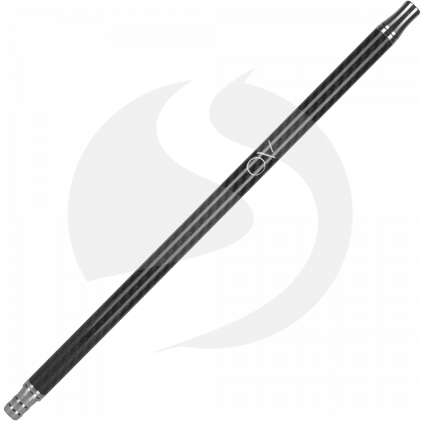 AO Carbon Mundstück Edelstahl V2A - Schwarz