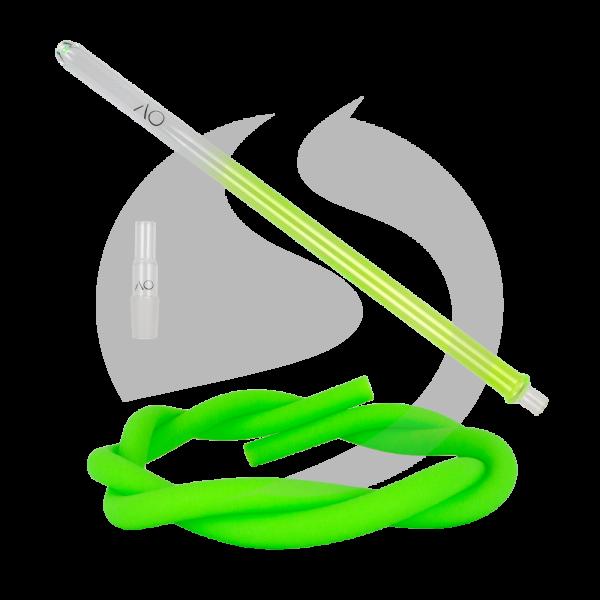 AO Hookah Glasmundstück SET - Round Green
