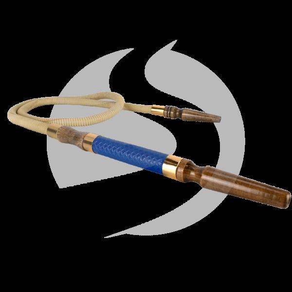 CRT Lederschlauch - Blue/Bronze
