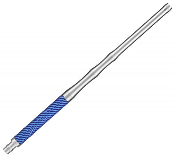 "Caesar Alu ""Carbon"" Mundstück 35cm - Blue"
