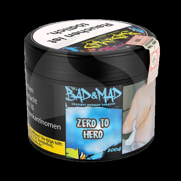 Bad & Mad Tobacco 200g - Zero to Hero