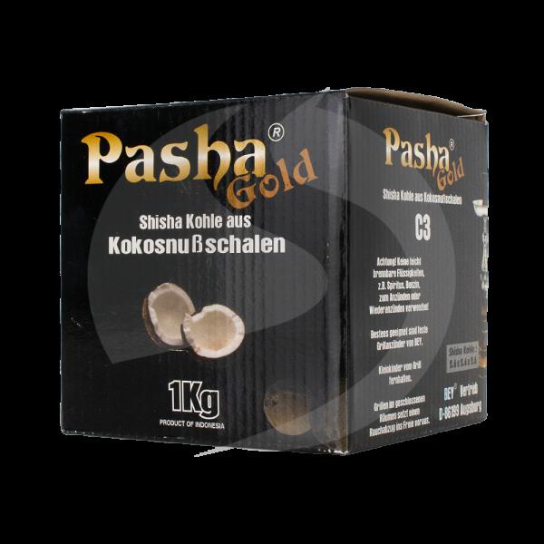 Pasha Gold Kokosnuss Naturkohle 1kg