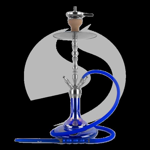 CRT V2A Edelstahl Headhunter - Shining Blue