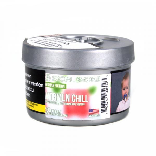 Social Smoke 250g - Wtrmln Chill