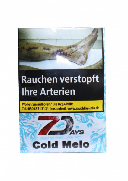 7 Days Tabak Classic 20g - Cold Melo