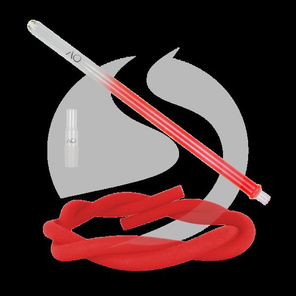 AO Hookah Glasmundstück SET - Round Red