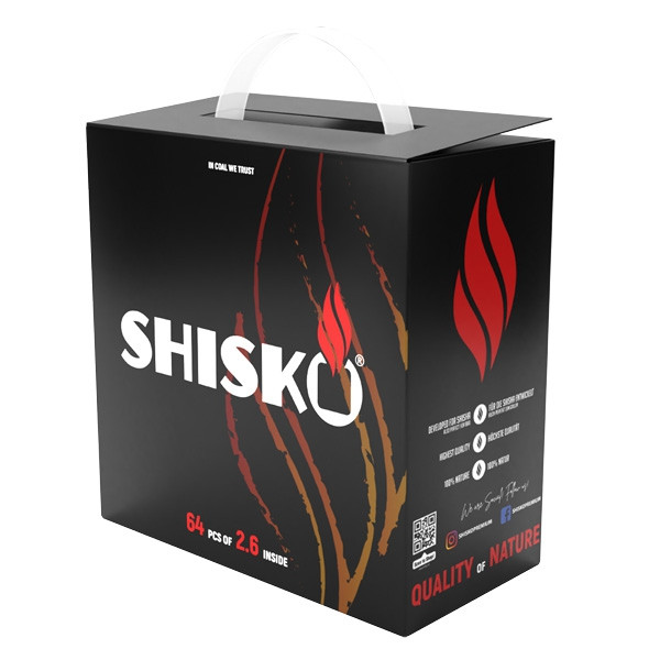Shisko Premium Kokosnuss Naturkohle 4kg